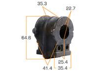 Втулка стабилизатора передней подвески NISSAN TEANA L33 2014-н.в. 2014,2015,2016,2017,2018,2019,2020,2021