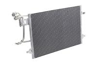 Радиатор кондиционера AUDI A6 C5 1997,1998,1999,2000,2001,2002,2003,2004,2005