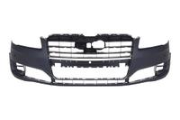 Бампер передний с отв. под омыватели фар и парктроник Уценка 50% (трещина) AUDI A8 D4 2013,2014,2015,2016,2017
