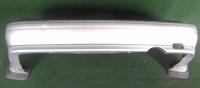 Бампер задний серый с брызговиками (потерт) NISSAN PULSAR V N15 1995,1996,1997,1998,1999,2000