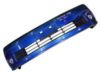 Бампер передний синий в сборе с ПТФ NISSAN PRESAGE II U31 2003,2004,2005,2006,2007,2008,2009