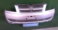 Бампер передний серый в сборе с решеткой радиатора MITSUBISHI DION