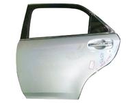 Дверь задняя левая серебро в сборе TOYOTA CROWN S200 2008-2012
