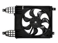 Вентилятор охлаждения радиатора CHEVROLET AVEO T250 / T255 2006,2007,2008,2009,2010,2011,2012,2013,2014,2015