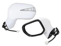 Зеркало заднего вида (боковое) левое электро, 7 контактов, автоскладывание, с повторителем поворота HONDA CIVIC VIII FD / FK / FN / FA 2005,2006,2007,2008,2009,2010,2011
