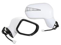 Зеркало заднего вида (боковое) правое электро, 7 контактов, автоскладывание, с повторителем поворота HONDA CIVIC VIII FD / FK / FN / FA 2005,2006,2007,2008,2009,2010,2011