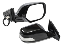 Зеркало заднего вида (боковое) правое электро, 9 контактов, автоскладывание, с повторителем поворота и подогревом HONDA CR-V III RE 2006,2007,2008,2009,2010,2011,2012