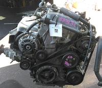 Двигатель (мотор) 2.3 L3-DE с навесным 532003 2004 г. 82000 км. 2WD АКПП в сборе (коллектор впускной лом) MAZDA MPV LW 1999,2000,2001,2002,2003,2004,2005,2006