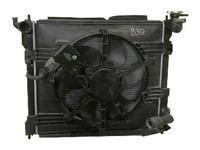 Радиатор охлаждения в сборе с диффузором, моторчиком и крыльчаткой NISSAN LAFESTA