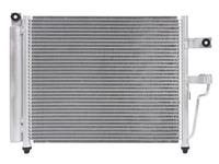 Радиатор кондиционера HYUNDAI ACCENT II LC 2000,2001,2002,2003,2004,2005,2006,2007,2008,2009,2010,2011,2012