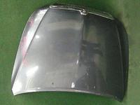 Капот темно-серый в сборе с шумоизоляцией и решеткой радиатора TOYOTA BREVIS G10 2001-2007