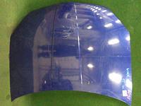 Капот синий в сборе с шумоизоляцией NISSAN WINGROAD II Y11 1999,2000,2001,2002,2003,2004,2005