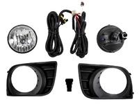 Фара противотуманная (ПТФ) левая+правая комплект с решеткой, проводкой и кнопкой TOYOTA SEQUOIA XK60 2007-2020