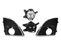 Фара противотуманная (ПТФ) левая+правая комплект с решеткой CHEVROLET CRUZE J300 2009,2010,2011,2012,2013,2014,2015,2016