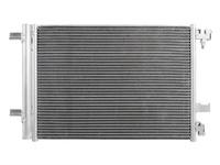 Радиатор кондиционера CHEVROLET CRUZE J300 2009,2010,2011,2012,2013,2014,2015,2016