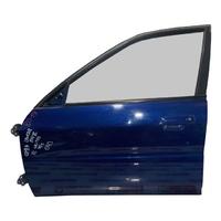 Дверь передняя левая синяя в сборе (вмятина) MITSUBISHI LANCER VIII CK 1996,1997,1998,1999,2000,2001,2002,2003