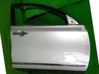 Дверь передняя правая серебро в сборе с накладкой (замят угол) NISSAN TEANA J32 2008,2009,2010,2011