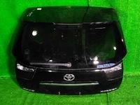 Крышка багажника черная в сборе, тюнинг, со стоп-вставками TOYOTA HARRIER / LEXUS RX XU30 2003-2013
