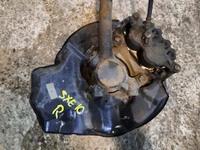 Кулак поворотный правый в сборе со ступицей, диск, суппорт, 2WD TOYOTA CROWN S170 1999-2007