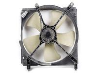 Диффузор вентилятора охлаждения радиатора в сборе с мотором, крыльчаткой МКПП TOYOTA CALDINA T190 1992-2002