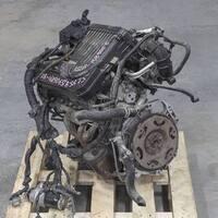 Двигатель (мотор) 2.5 K12B со стартером, генератором, ГУР-ом, косой и компрессором, 2012 г. 89000 км. 2WD АКПП в сборе MITSUBISHI DELICA D:2 VI MB1 2011-н.в. 2011,2012,2013,2014,2015,2016,2017,2018,2019,2020,2021