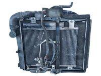 Радиатор охлаждения в сборе с радиатором кондиционера и диффузором MITSUBISHI CANTER FB6 / FE5 / FE6 1994,1995,1996,1997,1998,1999,2000,2001,2002