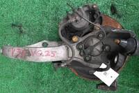 Кулак поворотный левый в сборе со ступицей, диск, суппорт 2WD NISSAN SKYLINE V35 2001,2002,2003,2004,2005,2006,2007