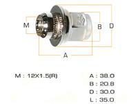 Гайка крепления колеса M12x1.5x38/S21 TOYOTA CELICA T180 1989-1993