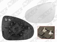 Стекло бокового зеркала левого с подогревом VOLKSWAGEN TOUAREG II 7P5 2010,2011,2012,2013,2014