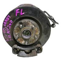 Кулак поворотный левый в сборе со ступицей, диск, суппорт TOYOTA CAMRY XV50 2012-2015