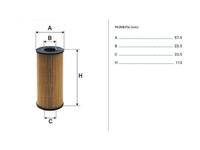 Фильтр масляный OPEL MOVANO B X62 2010-н.в. 2010,2011,2012,2013,2014,2015,2016,2017,2018,2019,2020,2021
