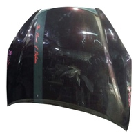 Капот фиолетовый в сборе с шумоизоляцией, с решеткой радиатора LEXUS ES IV 300 MCV30 2001-2006