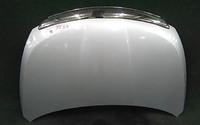 Капот серебро в сборе с шумоизоляцией и хром накладкой NISSAN TIIDA C11 2007,2008,2009,2010,2011,2012,2013,2014