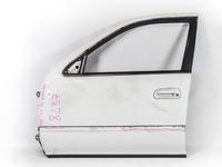 Дверь передняя левая белая в сборе (дефект молдинга) TOYOTA CRESTA X90 1992-1996