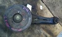 Рычаг подвески задний правый в сборе продольный, со ступицей и барабаном, 2WD MITSUBISHI DION