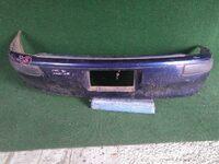 Бампер задний синий с молдингами TOYOTA COROLLA SPACIO E110 1997-2001