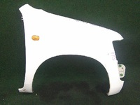 Крыло переднее правое белое TOYOTA PROBOX / SUCCEED XP 50 2002-2014