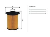 Фильтр топливный OPEL MOVANO A X70 1998,1999,2000,2001,2002,2003,2004,2005,2006,2007,2008,2009,2010
