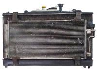 Радиатор охлаждения в сборе с радиатором кондиционера, диффузором и расширительным бачком MAZDA ATENZA GG 2002,2003,2004,2005,2006,2007