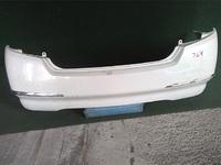 Бампер задний белый с хром-молдингом (царапины) NISSAN TEANA J32 2008,2009,2010,2011