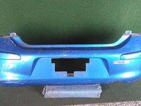 Бампер задний синий (царапины) NISSAN MICRA / MARCH MICRA IV / MARCH IV K13 2010,2011,2012,2013,2014,2015,2016