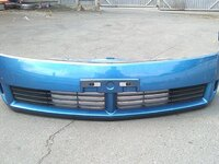 Бампер передний синий с решетками NISSAN WINGROAD II Y11 1999,2000,2001,2002,2003,2004,2005