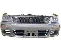 Ноускат серый в сборе бампер, суппорт, радиаторы, фары, повторители, решетка, диффузор, усилитель 4WD АКПП NISSAN STAGEA I WC34 1996,1997,1998,1999,2000,2001