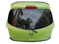 Крышка багажника зеленая в сборе со стеклом, с замком NISSAN MICRA / MARCH MICRA IV / MARCH IV K13 2010,2011,2012,2013,2014,2015,2016