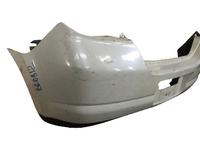 Бампер задний белый NISSAN TIIDA C11 2007,2008,2009,2010,2011,2012,2013,2014