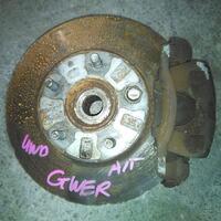Кулак поворотный правый в сборе со ступицей, диск, суппорт, ABS 4WD MAZDA CAPELLA GF / GW 1997,1998,1999,2000,2001,2002