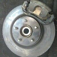 Кулак поворотный правый в сборе со ступицей, диск, суппорт, 2WD NISSAN TEANA J31 2003,2004,2005