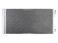 Радиатор кондиционера с датчиком в бок RENAULT FLUENCE