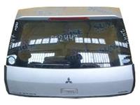Крышка багажника серебро в сборе со стеклом, спойлер, стеклоочиститель, стоп-сигнал MITSUBISHI LANCER CEDIA RHD CS 2000,2001,2002,2003,2004,2005,2006,2007,2008,2009