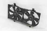 Диффузор радиатора охлаждения в сборе с моторами (трещина сверху) NISSAN WINGROAD II Y11 1999,2000,2001,2002,2003,2004,2005